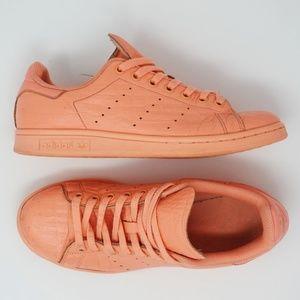 Adidas Stan Smith Tennis Leather Sneakers Sun Glow